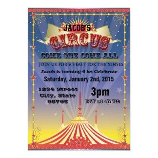 Circus Celebration Card