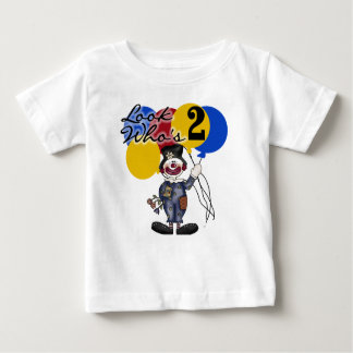 Circus Clown 2nd Birthday Baby T-Shirt