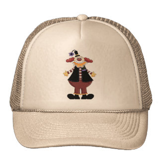 Circus Clown Act Cap