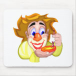 Circus Clown Ants Mousepad
