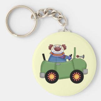 Circus Clown Car Key Ring
