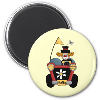 Circus Clown Car Magnet