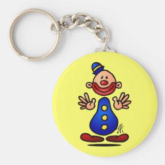 Circus Clown Key Ring