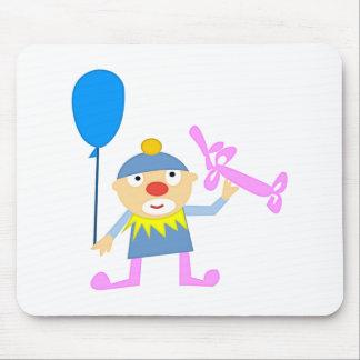 Circus Clown with Ballon Mousepad
