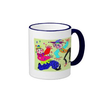 Circus Clowns Coffee Mug