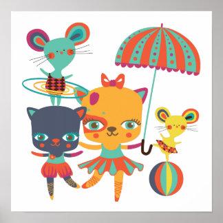 Circus Cuties Print