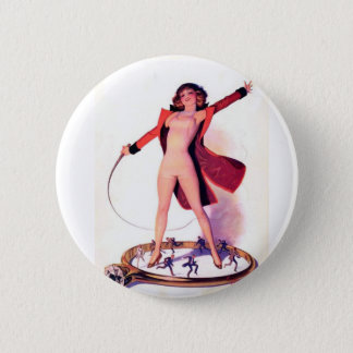 Circus Days Film Fun Vintage Art 6 Cm Round Badge