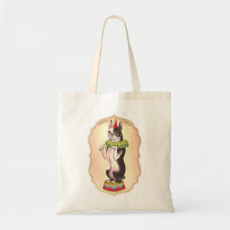 Circus Dog Tote Bag