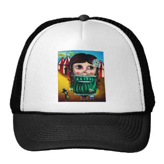 circus doll hats