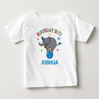 Circus Elephant 1st Birthday Tshirts
