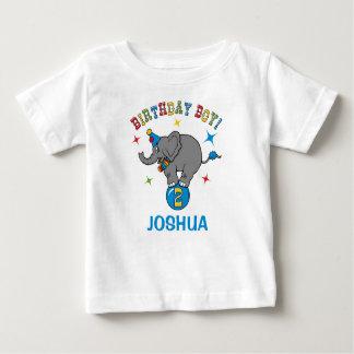 Circus Elephant 2nd Birthday Baby T-Shirt
