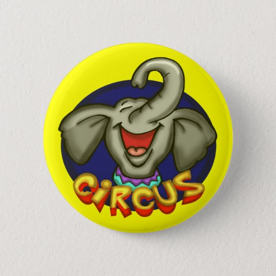 Circus Elephant Buttons