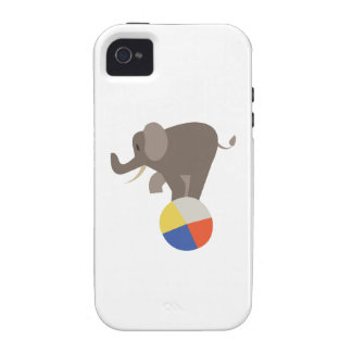 Circus Elephant iPhone 4/4S Covers