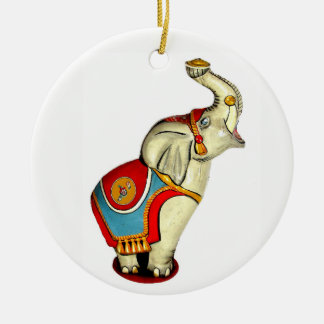 Circus Elephant Christmas Ornament