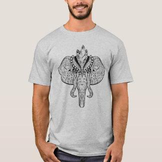 Circus Elephant Doodle T-Shirt