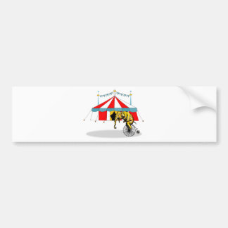 Circus Elephant Gifts Bumper Sticker