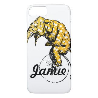 Circus Elephant Gifts iPhone 7 Case