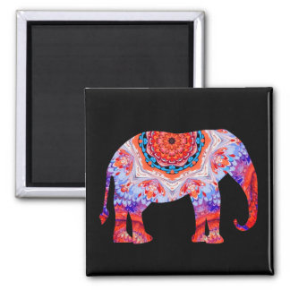 Circus Elephant Magnet