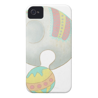 Circus Elephant On A Ball iPhone 4 Case