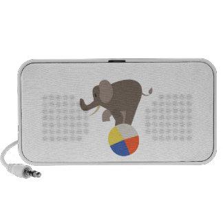 Circus Elephant Laptop Speakers
