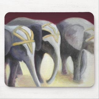 Circus Elephants Mousepad