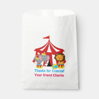 Circus Favor or Party  Bags