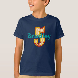 Circus Fifth Birthday Shirt