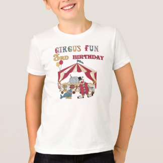 Circus Fun 3rd Birthday T-Shirt