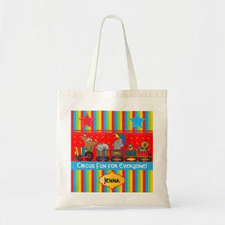 Circus Fun for Everyone Nursery Theme Canvas Bag