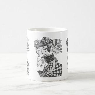 Circus Girl Costume Party Coffee Mug