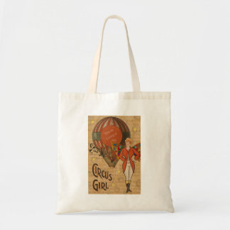 Circus Girl Tote Bag