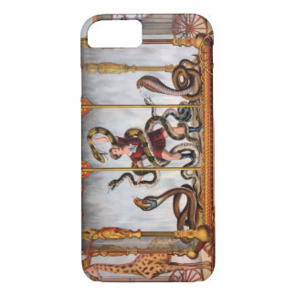 Circus Girl Vintage Poster iPhone 7 Case