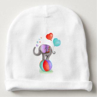 Circus gray elephant whimsy custom baby hat baby beanie
