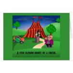 Circus Greeting Card