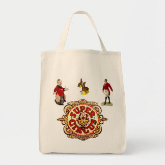 Circus Grocery Tote