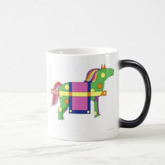 circus horse  morphing mug