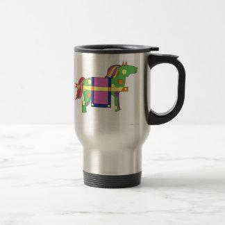 circus horse mugs