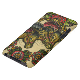 circus horses iPod Case-Mate cases