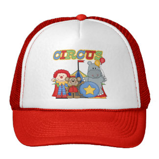 Circus is in Town Tshirts and Gifts Cap