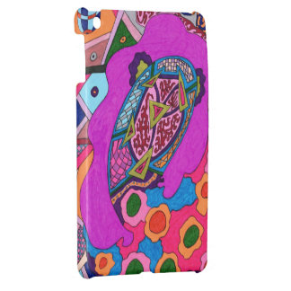 Circus Lion Abstract Cover For The iPad Mini