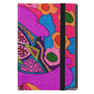 Circus Lion Abstract Poster Cover For iPad Mini