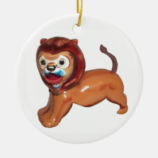 Circus Lion Christmas Ornament