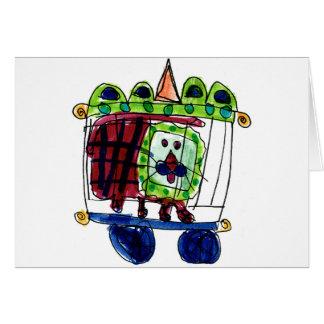 Circus Lion • Daneille Brito, Age 6 Card