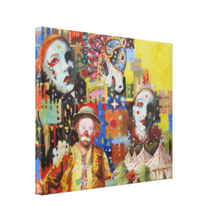 """Circus Memories"" Canvas Print"