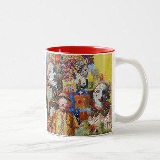 """Circus Memories"" Two-Tone Coffee Mug"