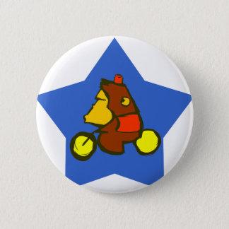 Circus Monkey 6 Cm Round Badge