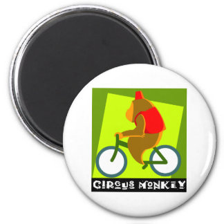 Circus Monkey Magnet