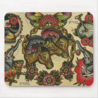 circus mouse mat