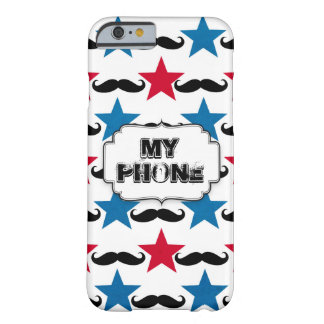 Circus, Moustache and Stars Barely There iPhone 6 Case