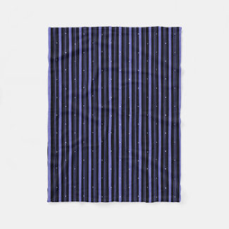 """Circus"" Night-Black-Blue_SM Fleece Blanket"